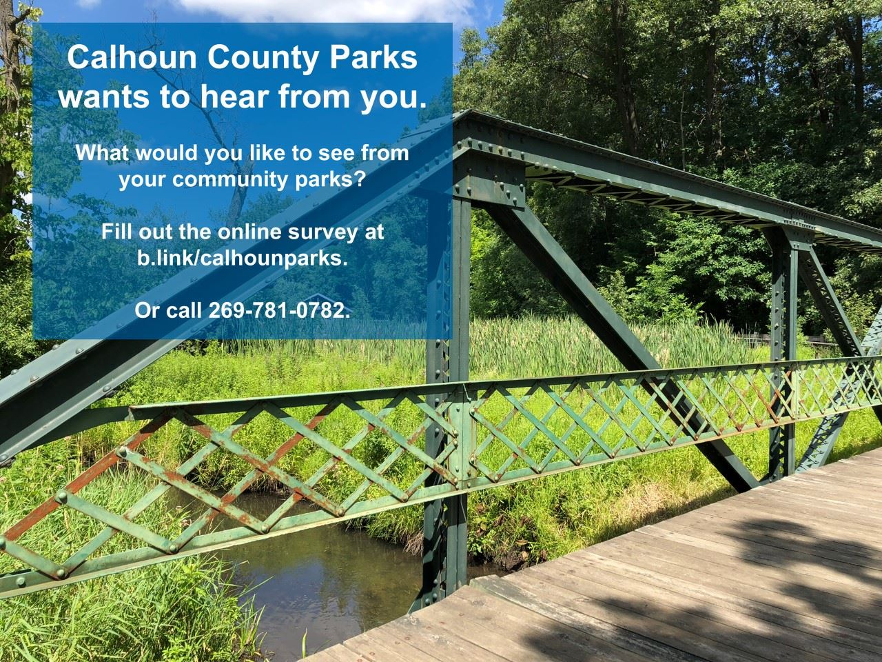 Calhoun County Parks Survey